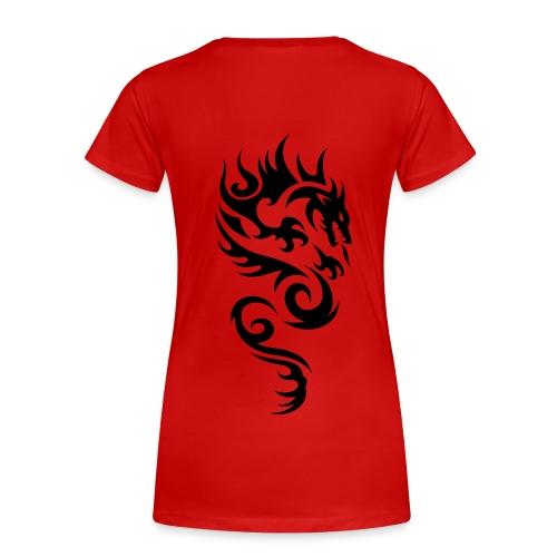 Tribal Dragon - Frauen Premium T-Shirt