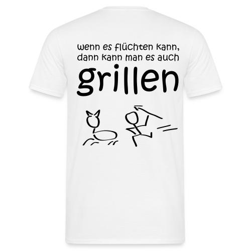Grillen - Männer T-Shirt