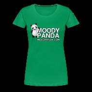T-Shirts ~ Women's Premium T-Shirt ~ Moody Panda Plus Size