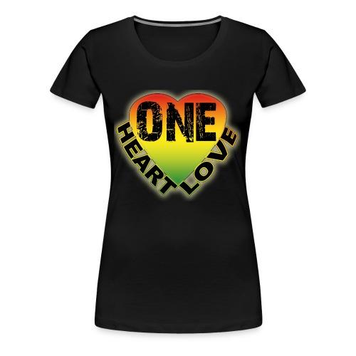One Heart One Love - Women's Premium T-Shirt