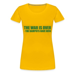 The War Is Over - Women's Premium T-Shirt