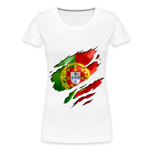 Portugal Girl Shirt - Frauen Premium T-Shirt