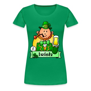 Paddy celebrates St. Patrick's Day - Women's Premium T-Shirt
