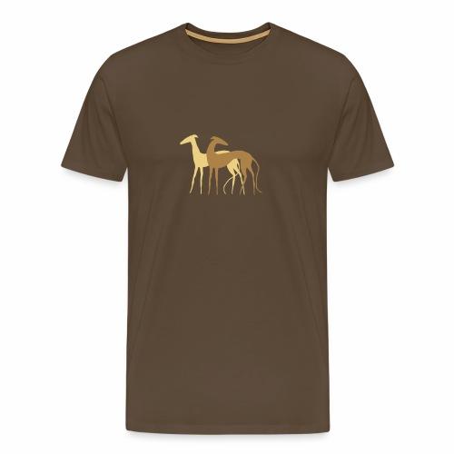 Galgos de la Luz - Männer Premium T-Shirt
