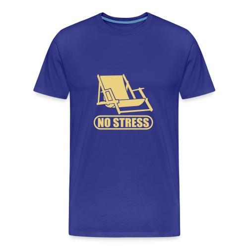 CrazYTunes - The No STreSS Shirt - Männer Premium T-Shirt