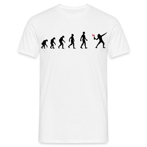 Motiv Evolution zur Revolution - Männer T-Shirt
