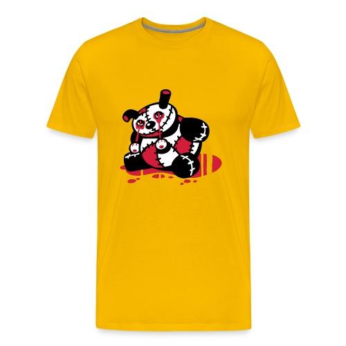 Splatter Bär - Männer Premium T-Shirt