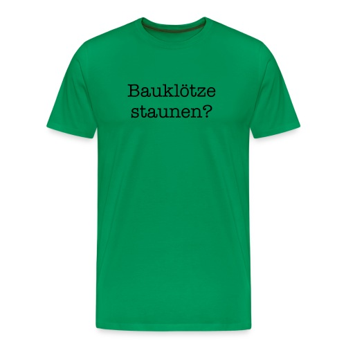 Let's Plays - Männer Premium T-Shirt