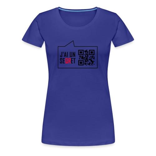 secret - T-shirt Premium Femme