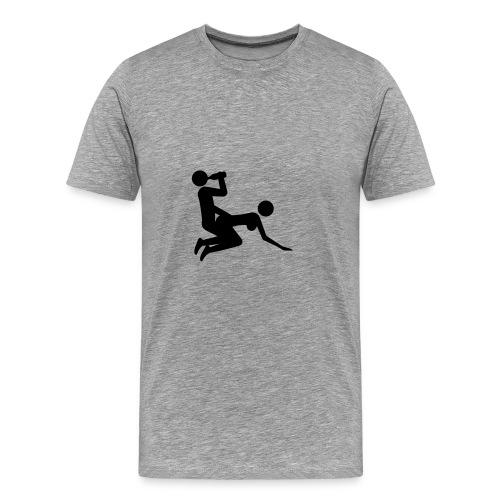 ber und sex - Männer Premium T-Shirt