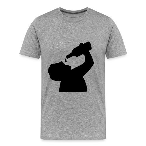 saufen - Männer Premium T-Shirt