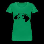 T-Shirts ~ Women's Premium T-Shirt ~ Big Panda Girlie