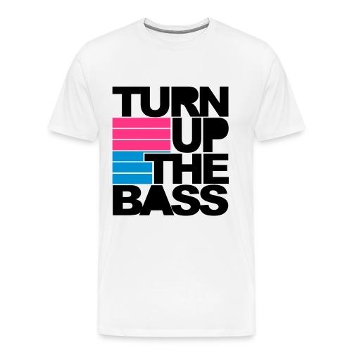 TKO, Turn up the bass T shirt - Men's Premium T-Shirt