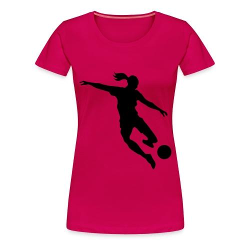 Female Soccer - Women's Premium T-Shirt
