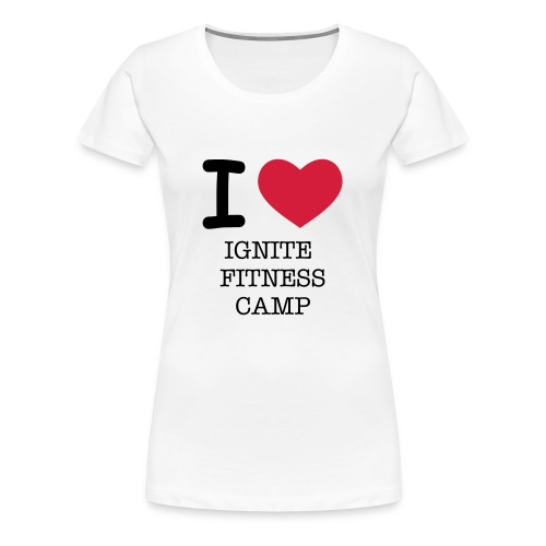 I LOVE T-SHIRT - Women's Premium T-Shirt