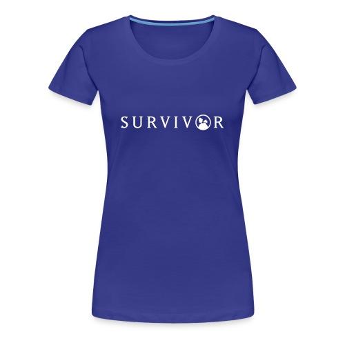 STAMMHEIM Survivor - Frauen Premium T-Shirt
