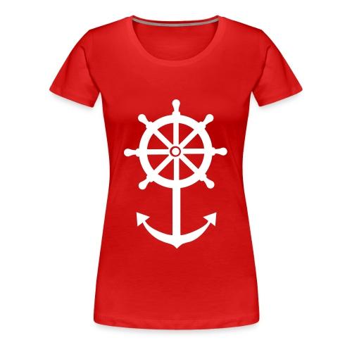 Red Lady - Women's Premium T-Shirt