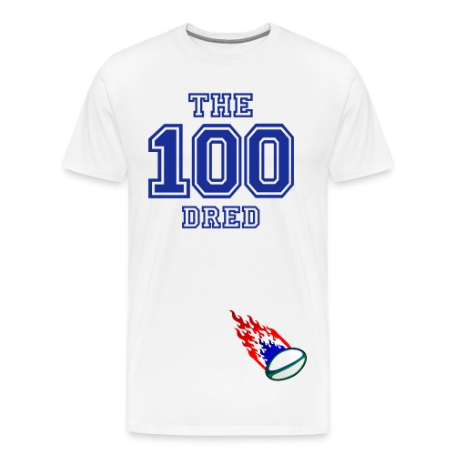 The 100dred - Mannen Premium T-shirt