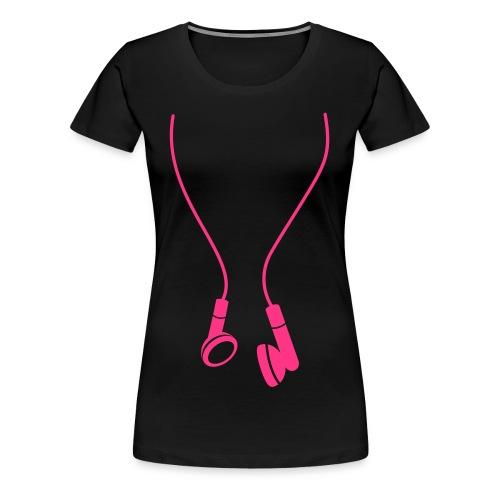 Heaven & Hell Women's Headphones - Women's Premium T-Shirt
