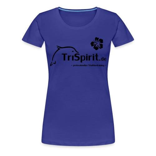 Girlie Shirt Cordula schwarzes Logo mit Slogan - Frauen Premium T-Shirt