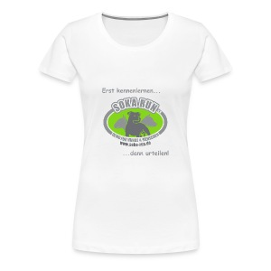 Girlieshirt, Logo & Text - Frauen Premium T-Shirt