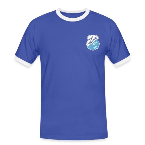 TSV-Fanshirt mit individuellem Rückenprint - Männer Kontrast-T-Shirt