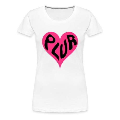 PLUR Ladies - Women's Premium T-Shirt