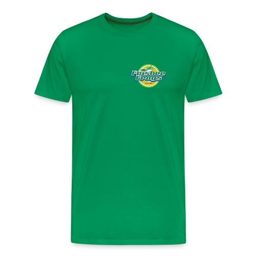 Frisbee Frogs -paita, rintamerkillä. Useita värejä! - Miesten premium t-paita