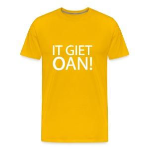 IT GIET OAN! Shirt - Mannen Premium T-shirt