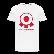 T-Shirts ~ Men's Premium T-Shirt ~ Genobazz White