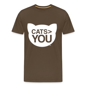 Cats > You - Men's Premium T-Shirt