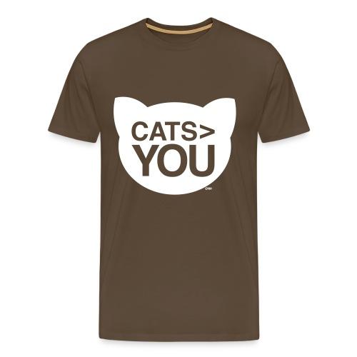 Cats > You - Men's Premium T-Shirt