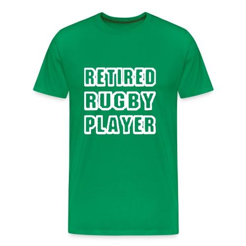 Retired Rugby Player T Shirt - Men's Premium T-Shirt