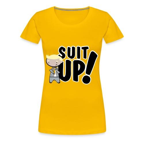 'Suit Up!' - Camiseta premium mujer