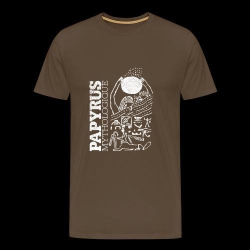 Papyrus Mythologique (white) - Männer Premium T-Shirt