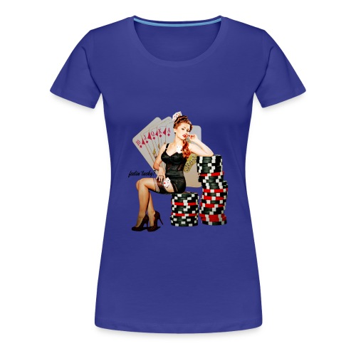 Poker - Frauen Premium T-Shirt