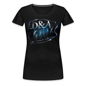 dna - Vrouwen Premium T-shirt