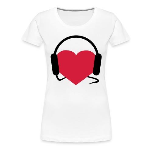 I love paita naisille! - Naisten premium t-paita