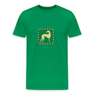 Greyhound Mosaïc - T-shirt Premium Homme