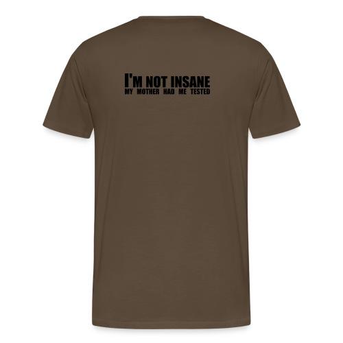 lover not a fighter - Men's Premium T-Shirt