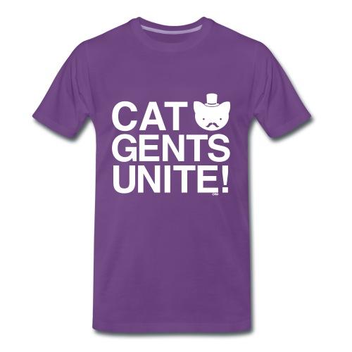 Cat Gents Unite! - Men's Premium T-Shirt