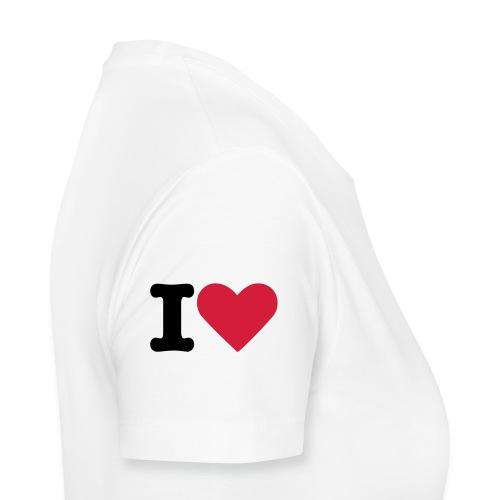 I LOVE VENDETTA women's t-shirt - Women's Premium T-Shirt