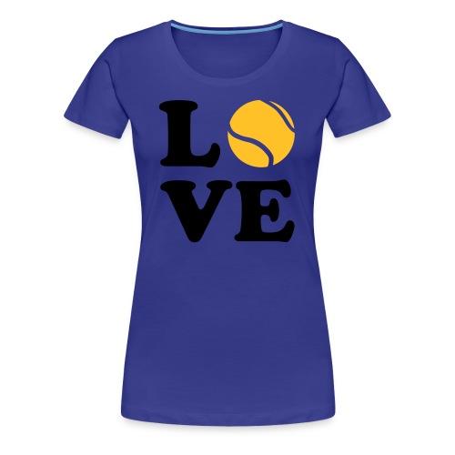 Le tennis - T-shirt Premium Femme