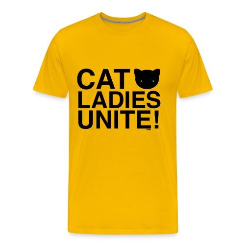Cat Ladies Unite! - Men's Premium T-Shirt