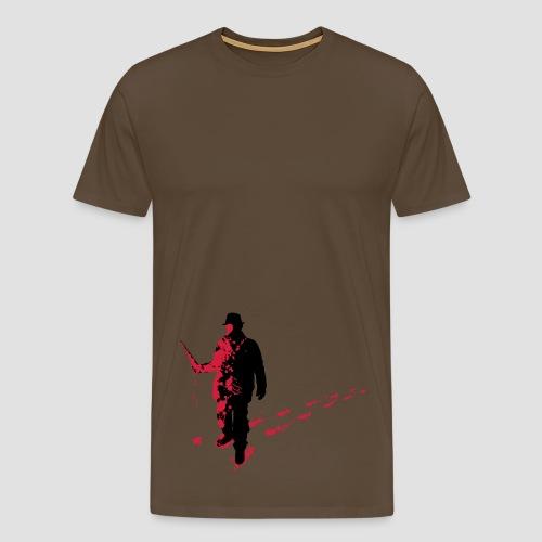 Splatter Horror Design Individual Couture Horrorcore T Shirt - Männer Premium T-Shirt