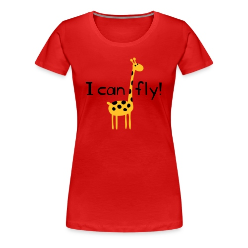 I can fly! - Frauen Premium T-Shirt