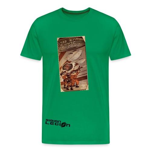 SIRIAN LEGION VINTAGE MEN - T-shirt Premium Homme