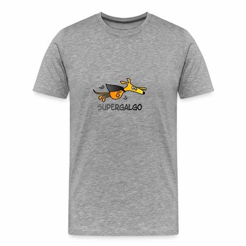 Supergalgo # - Männer Premium T-Shirt