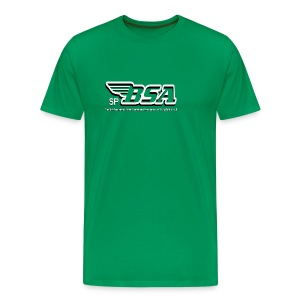 British Skateboard Association big bloke t-shirt - Men's Premium T-Shirt
