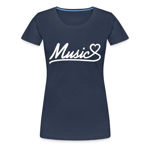 Love musique femme 07 - T-shirt Premium Femme